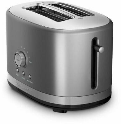 KitchenAid KMT2116CU 2-Slice Slot Toaster, Contour Silver