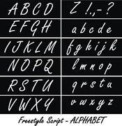 Script Stencil