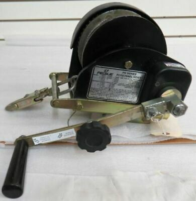 Pelsue Ph07c Personnel Hoist With 70 Stainless Steel Cable And Bracket