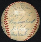 Brooklyn Dodgers Autographed Baseball