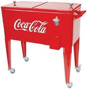 Coca Cola Metal Cooler