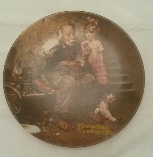 My Plates Texas >> Vintage Norman Rockwell Plates | eBay