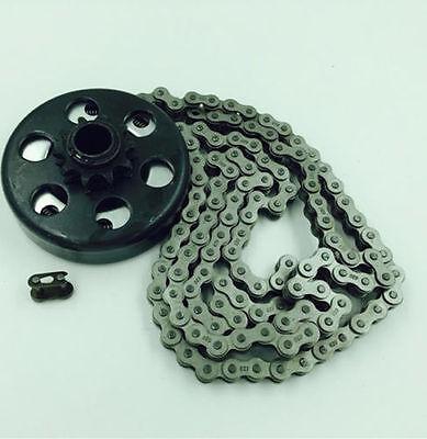 Centrifugal Clutch for Mini Bike Go Kart 3/4'' Bore 10T #40/41/420 3 feet chainQ