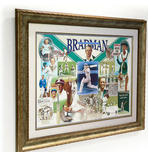 DON BRADMAN  HAND SIGNED  FIRST LAST ALWAYS  SIR DONALD BRADMAN