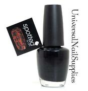 OPI Nail Polish Black