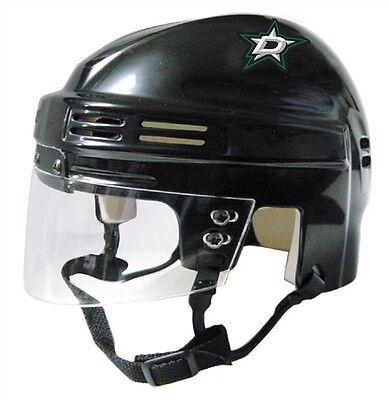 DALLAS STARS Black Mini Hockey Helmet Dallas Stars Mini Hockey Helmet