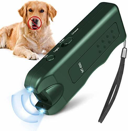 Handheld Dog Repellent, Ultrasonic Infrared Dog Deterrent, Bark Stopper + Good