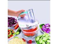 Brand new Prepology Change a Bowl 220w Handheld Food Processor