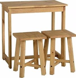 (Brand New) Corona Breakfast Set - Distressed Waxed Pine SPD00466-T - RRP £64