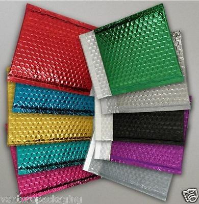 Metallic Bubble Wrap Foil Lined Padded Mailing Shiny Bags Gift Envelopes
