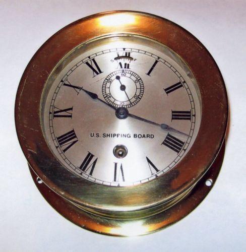 Seth Thomas Ships Clock Ebay