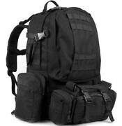 Military Tactical Black Backpack