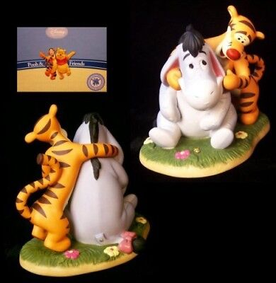 Pooh and Friends Friends Like You Put a Smile on My Face Eeyore Tigger Figurine
