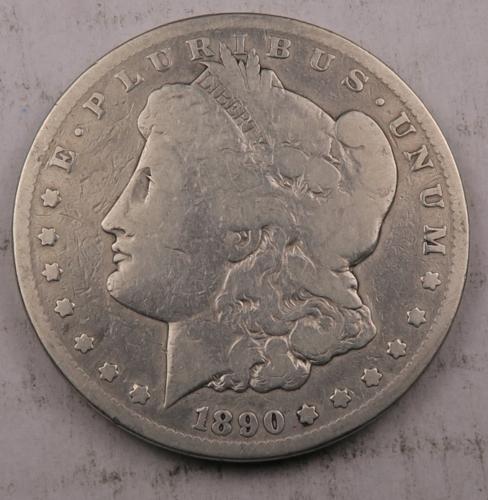 1890-CC Morgan Dollar VF Key Date 90 Silver 906 - $99.98