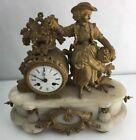 French Bronze Antique Clocks