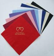 100 Personalised Napkins