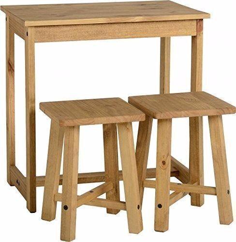 (Brand New) Corona Breakfast Set - Distressed Waxed Pine SPD00466-T - RRP £64