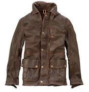 Timberland Mens Leather Jacket