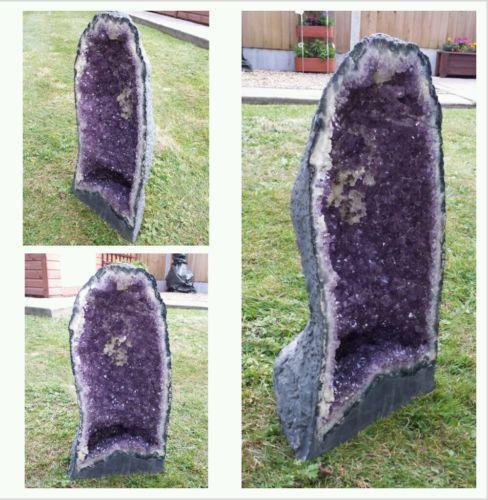 Green Amethyst Geode : Amethyst geode crystals ebay