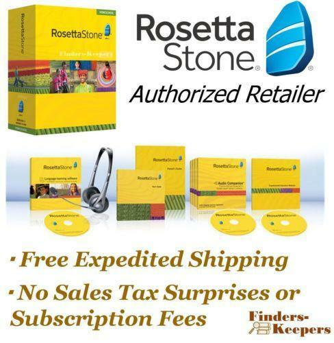 Rosetta Stone English Education Language Reference Ebay