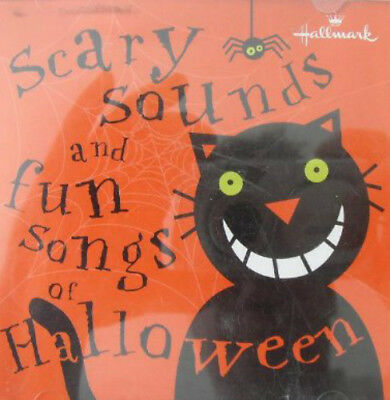 Scary Sounds and Fun Songs of Halloween ~ Hallmark Music CD NEW - Halloween Songs Pop