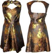 50s Satin Dress