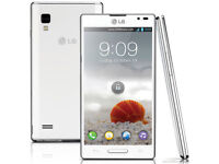 LG Optimus L9 4.7 Inch 3G GPS WIFI NFC Unlocked 5MP Camera Smartphone BOxed only opened to check