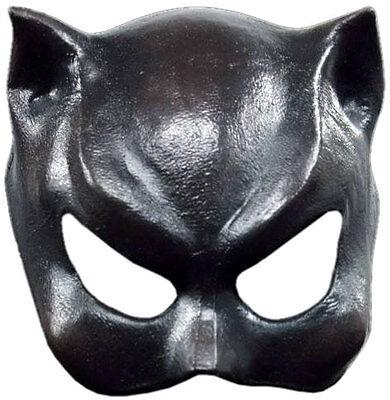 Schwarze Katze Frau Maske Sexy Feline Latex Halbmaske Kostüm Neu
