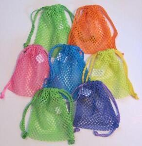 Mesh Drawstring Bags