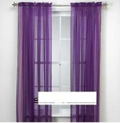 Purple Valance