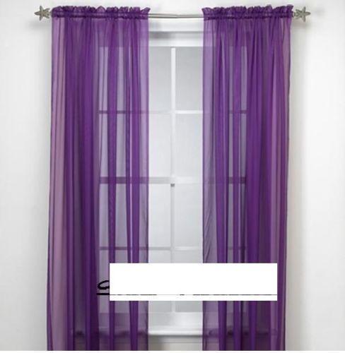 Kitchen Curtains Purple: Purple Valance