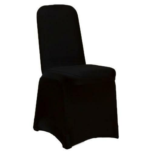 Black Spandex Chair Covers Ebay