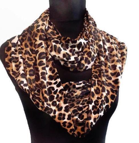 cheetah print infinity scarf ebay