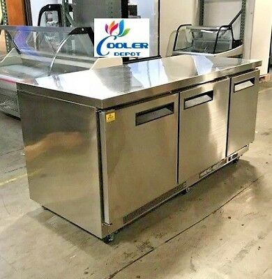 New 72 Commercial Under Counter Freezer 3 Door Model Tuc72f Restaurant Bar Nsf