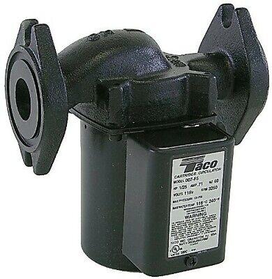 Taco 007-hf5-17c - Cartridge Circulator Pump Black Ci Woptional 1-14 Flanges