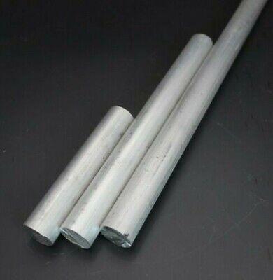 Barra redonda aluminio macizo 6082 T6. Diámetro 20mm Longitud 200mm