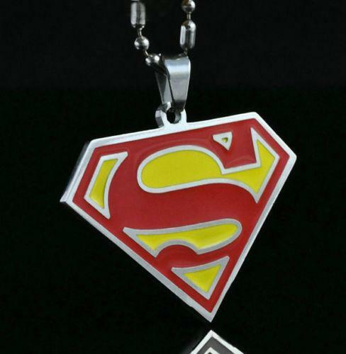 Superman necklace ebay mozeypictures Gallery