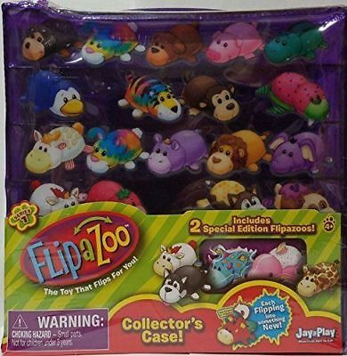 Special Edition Collector Series - FLIPAZOO COLLECTOR'S CASE SERIES 1 INCLUDES 2 SPECIAL EDITION FLIPAZOOS JAY@PLAY