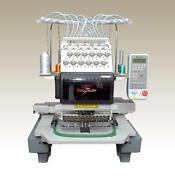 12 Needle Embroidery Machine