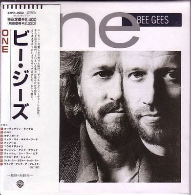 Bee Gees - ONE (MINI LP AUDIO CD with OBI) Barry Gibb, Robin Gibb, Maurice Gibb