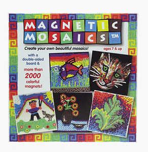 Orb Factory Magnetic Mosaics 2000 Piece Set, New