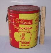Potato Chip Tin
