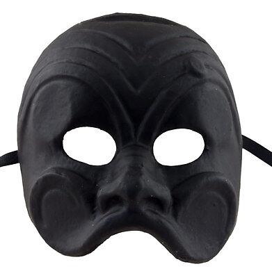 Mask from Venice Brighella Paper Mache Black 2319 VG17