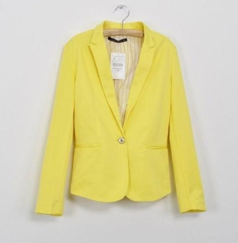 Yellow Suit Jacket Ebay
