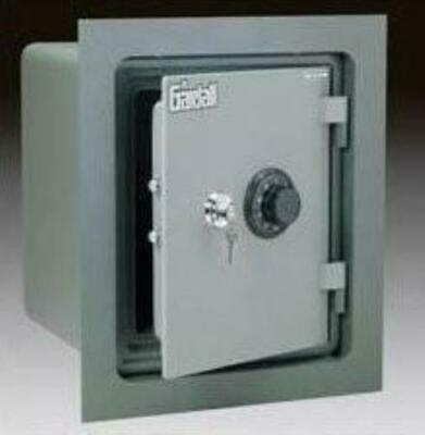 Gardall WMS129-G-K Fireproof Wall Safe (with flange) with Key Lock Gardall Wall Safe