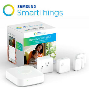 Samsung SmartThings Home Monitoring Kit Zigbee/Z-Wave Automation