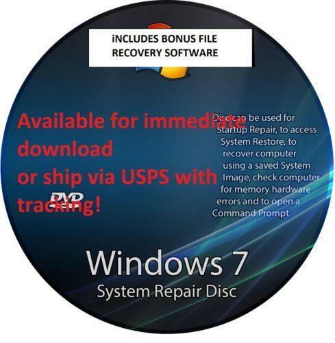 recovery disk windows 7 download