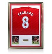 Steven Gerrard Signed