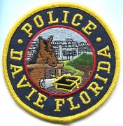 Old Florida Police Patch