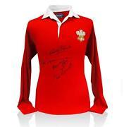 Wales Signed Shirt
